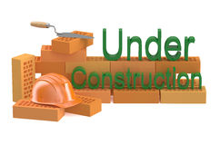 Under construction and building concept Royalty Free Stock Photos