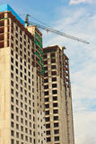 Under construction building with sky Stock Photo