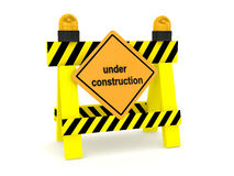 Under construction concept Royalty Free Stock Photo