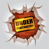Under construction concept. Stock Image