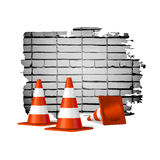 Under construction concept  background Stock Images