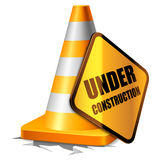Under construction concept. Royalty Free Stock Photo