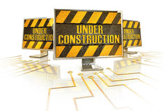 Under construction Royalty Free Stock Photography