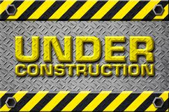 Under construction design Stock Image
