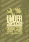 Under construction design. Royalty Free Stock Photos