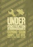 Under construction design. royalty free illustration