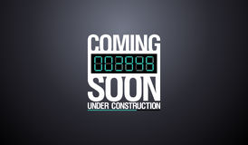 Under construction design. Stock Photo