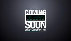 Under construction design. Stock Photo