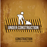 Under,construction design Royalty Free Stock Photography