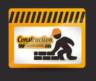 Under construction design Royalty Free Stock Photography