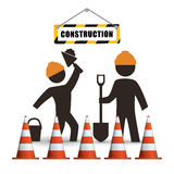 Under construction design Stock Photo