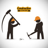 Under construction  design Royalty Free Stock Image