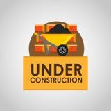 under construction design Royalty Free Stock Photos