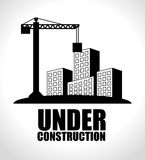 Under construction design. royalty free stock photography