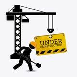 Under construction design. vector illustration