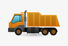 Under construction design. truck concept. repair icon. Under construction concept with icon design, vector illustration 10 eps graphic Royalty Free Stock Photography