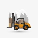 Under construction design. truck concept. repair icon. Under construction concept with icon design, vector illustration 10 eps graphic Stock Photo