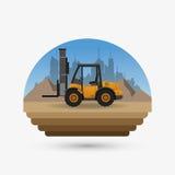 Under construction design. truck concept. repair icon. Under construction concept with icon design, vector illustration 10 eps graphic Stock Images