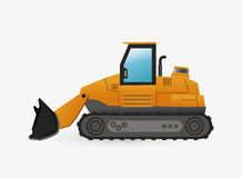 Under construction design. truck concept. repair icon. Under construction concept with icon design, vector illustration 10 eps graphic Royalty Free Stock Photos