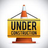 Under construction design, vector illustration. Stock Image