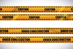 Under construction design, vector illustration. Royalty Free Stock Photography