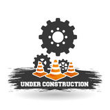 Under construction design. work illustration. repair icon. Under Construction concept with icon design, vector illustration 10 eps graphic Stock Photography
