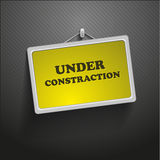 Under construction,  frame Stock Photography