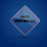 Under Construction Glass icon. Eps.10 - illustration Stock Photography