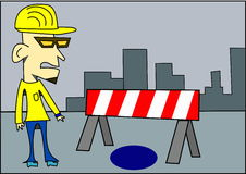 Under construction graphic Stock Images