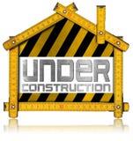 Under Construction - House Project Concept Stock Photos
