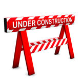 Under Construction Icon Royalty Free Stock Images