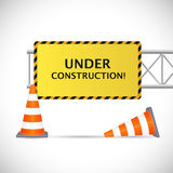 Under Construction Illustration Stock Images