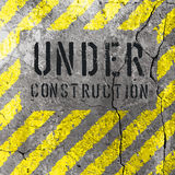 Under Construction Illustration. Vector Stock Photos