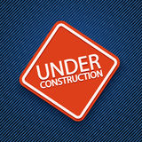 Under construction of jeans Stock Photos