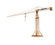 Under construction. Large construction crane without the surrounding landscape Stock Photography