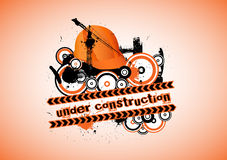 Under construction logo Stock Photos