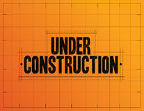 Under construction measurements Stock Photos