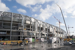 Under construction: new stadium Lille OSC Stock Photo