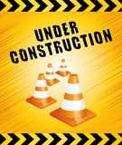 Under construction page. Royalty Free Stock Images