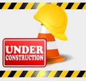 Under construction progress. Vector icon or symbol sign Stock Photography