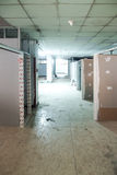 Under construction room. Under construction place renovation room Royalty Free Stock Photos