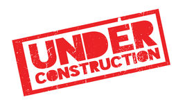 Under Construction rubber stamp Stock Photos