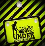 Under construction sign Stock Photos