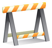An under construction sign Royalty Free Stock Image