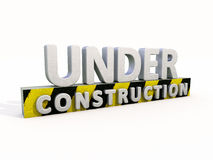 Under construction Royalty Free Stock Images