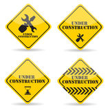 Under Construction Sign Set. Vector Illustration Stock Photo