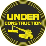 Under Construction sign. Symbol caution Stock Photography