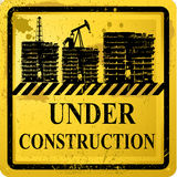 Under Construction sign Royalty Free Stock Images