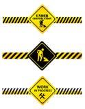 Under construction signs Vector Illustration