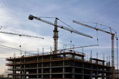 Under Construction Silhouette Royalty Free Stock Photo